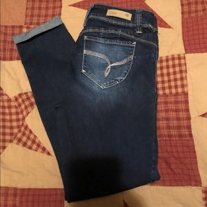 YMI Brand Crop Jeans